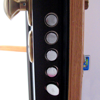 Bloc-porte postform CAEN huisserie 72x57mm prpeinte chant